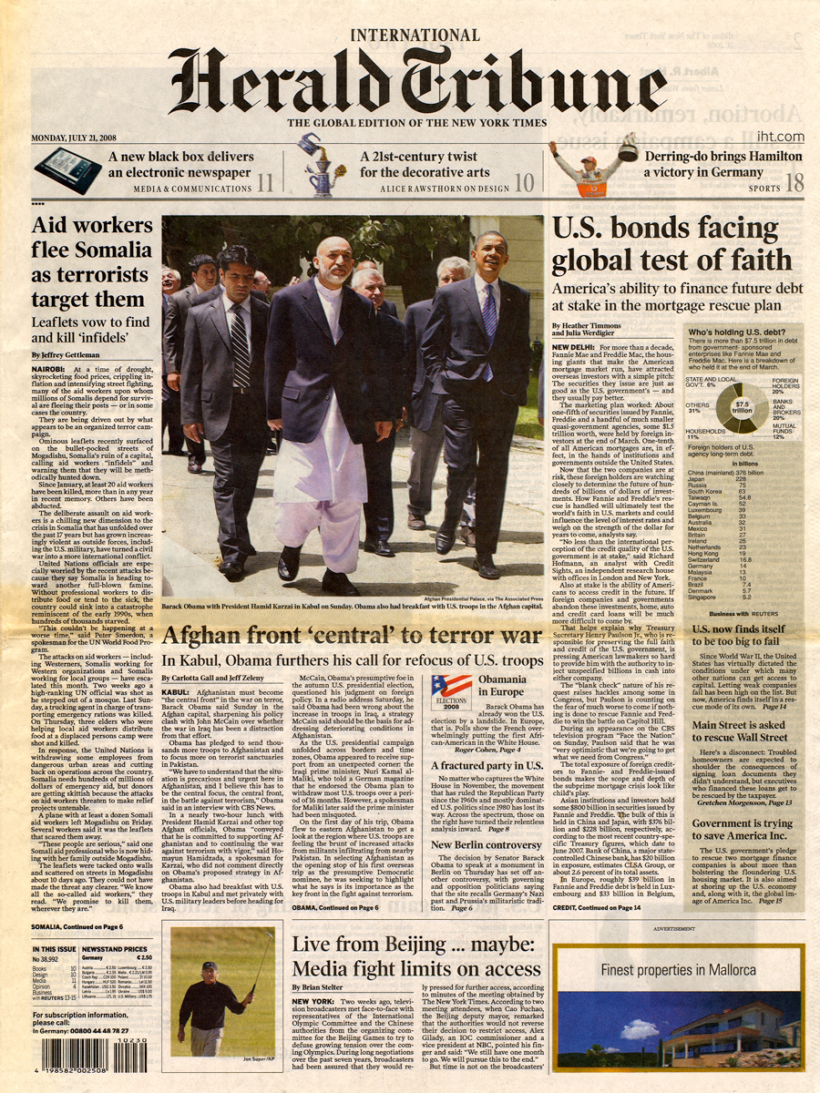 21 Jul 2008 - Herald Tribune